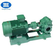 Horizontal petrol oil transfer rotary gear defueling pump