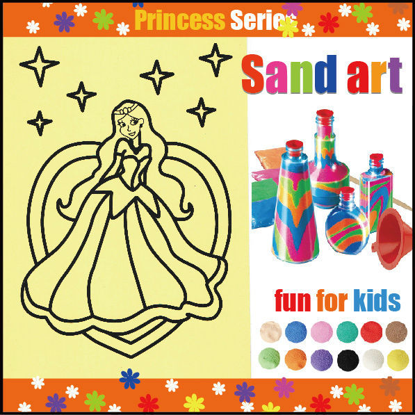 sand art supplier