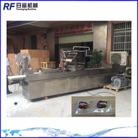 Guangzhou factory thermoforming vacuum packing machine continious drawing packaging machine