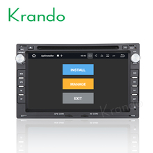 "Krando Android 7.1 7"" car dvd navigation player for Peugeot 307 car radio with usb gps system Bluetooth dab+ wifi KD-PG307"