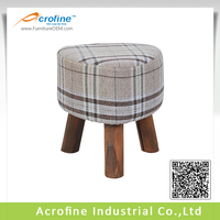 Acrofine Wooden Foot Stool with Three Legs AFS1001A