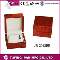 hot sale design china wholesale fashion high quality small homemade wooden gift luxury packing ring jewelry box watch box parts