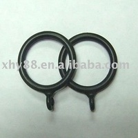 PR-008 32mm Black curtain eyelet ring in ABS