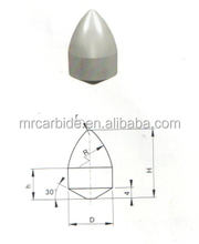 M24 tungsten carbide making auger rock drill tips in excavatorsfor coal mining tools