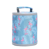 Wholesale Cute Reusable Oxford Cloth Aluminum Foil Lunch Bag Insulated Lunch Soft Bento Cooler Bag
