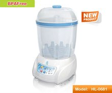 Baby infant bottle sterilizer and dryer
