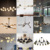 220 Volt Modern Hand Blown Lighting Lamps Chandelier For Home