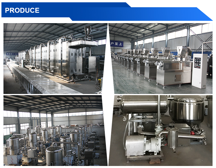China Supplier golden quality breakfast cereal corn flakes making machine With Long-term Technical Support