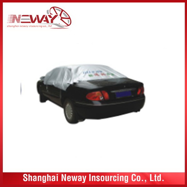 Made in china discount cover half car cover