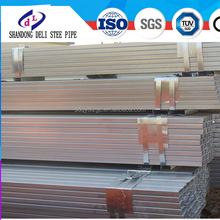BS1387 Q215 100x100x3.0mm Construction material Hot Dipped Galvanized Square tube