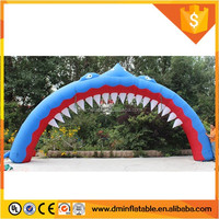 Outdoor 2016 High quality advertising inflatable arch, inflatable entrance arch