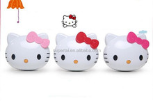 Free Shipping Cartoon Cute Hello kitty Power Bank 1000mah to 5200mah Hello Kitty Powerbank External Universal Battery Charger