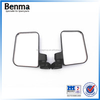 Very cheap china manufacture three wheel motorcycle side mirror, rear view mirror