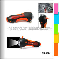 Multifunction LED torch with whistle