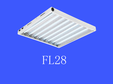 China Professional Manufacturer high output T5 linear fluorescent grow light lamp fitting for 2feet 24Watt 8tube