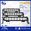 Single row 16inch 80W OffRoad LED Light Bars for Police, Fire, Ambulance and Recovery Vehicles