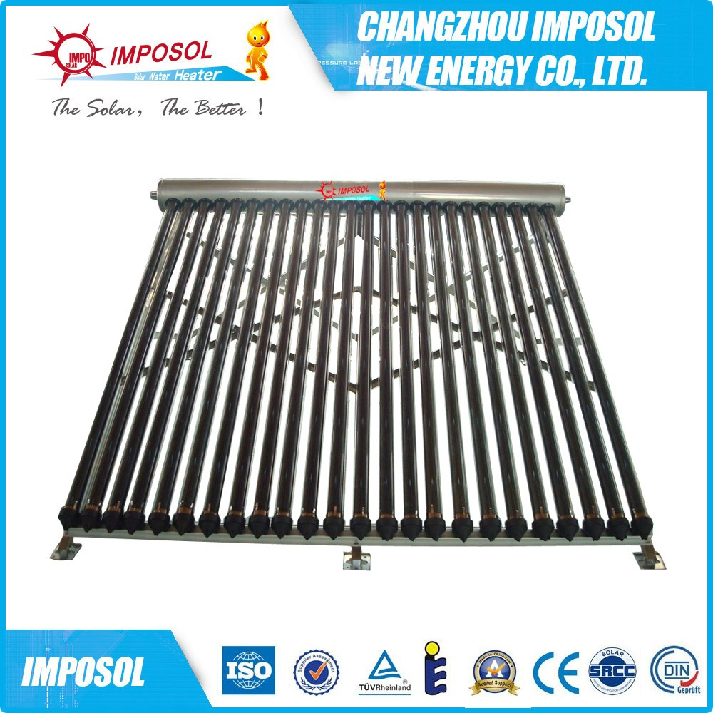 OEM solar tube collector with selective Frame