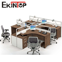 Modern Steel Frame Open Office staff partition workstation