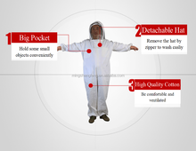 2017 Protection suit manufacturer directly supplies ventilated bee keeper protection suit for Australia and America market