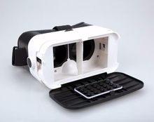 Patented 3D mini vr headset box for iPhone & Android Compatible with 3.5-6.3 inch screens