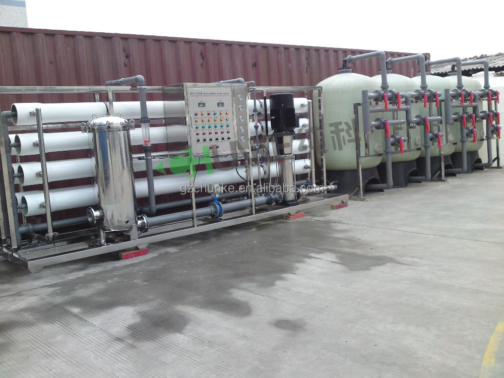 GuangZhou hot sale ro water plants price with bw30 400 membrane
