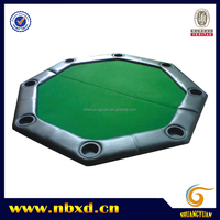2 Foldable Octagonal Poker Table Top