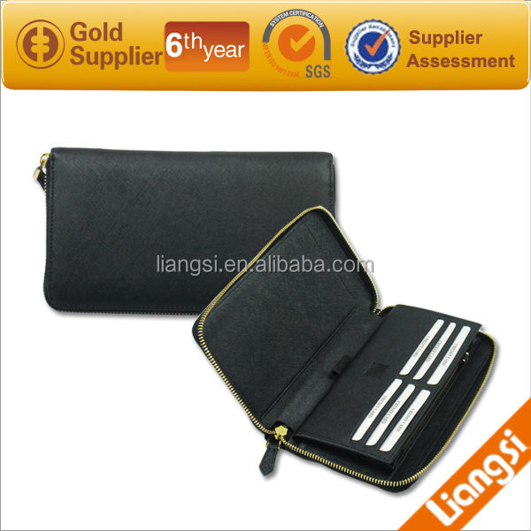 2014 fashion wallet, zipper wallet for man,branded wallet