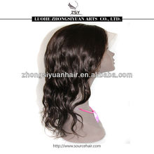 ZSY Top quality wholesale price 100% virgin brazilian human hair top closure lace wigs lace front wigs