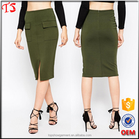 Factory wholesale oem product latest skirt design pictures pencil skirt
