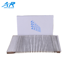 Environmental Material Folded Spray Booth Paint Paper Air Filter, Sepa Paint Filter Paper