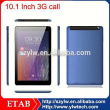 "10.1 inch MTK8382 quad core 3G call IPS1280x800 10.1"" tablet pc with phone call"
