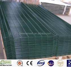 PVC coated heavy gauge welded wire mesh panels factory price