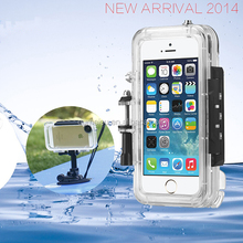 New Arrival Hot Sale Waterproof Case For cell phone 4 4s 5 5s 5c 6 6plus waterproof case sample Accepted