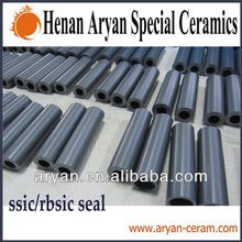 Sintered fire&acid-base resistant ceramic silicon carbide tube/pipe
