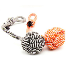 Pet Products Durable Training Hand Ball Dog Toys Rope Interactive