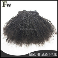 Full cuticle top quality wholesale hair different types of curly weave hair