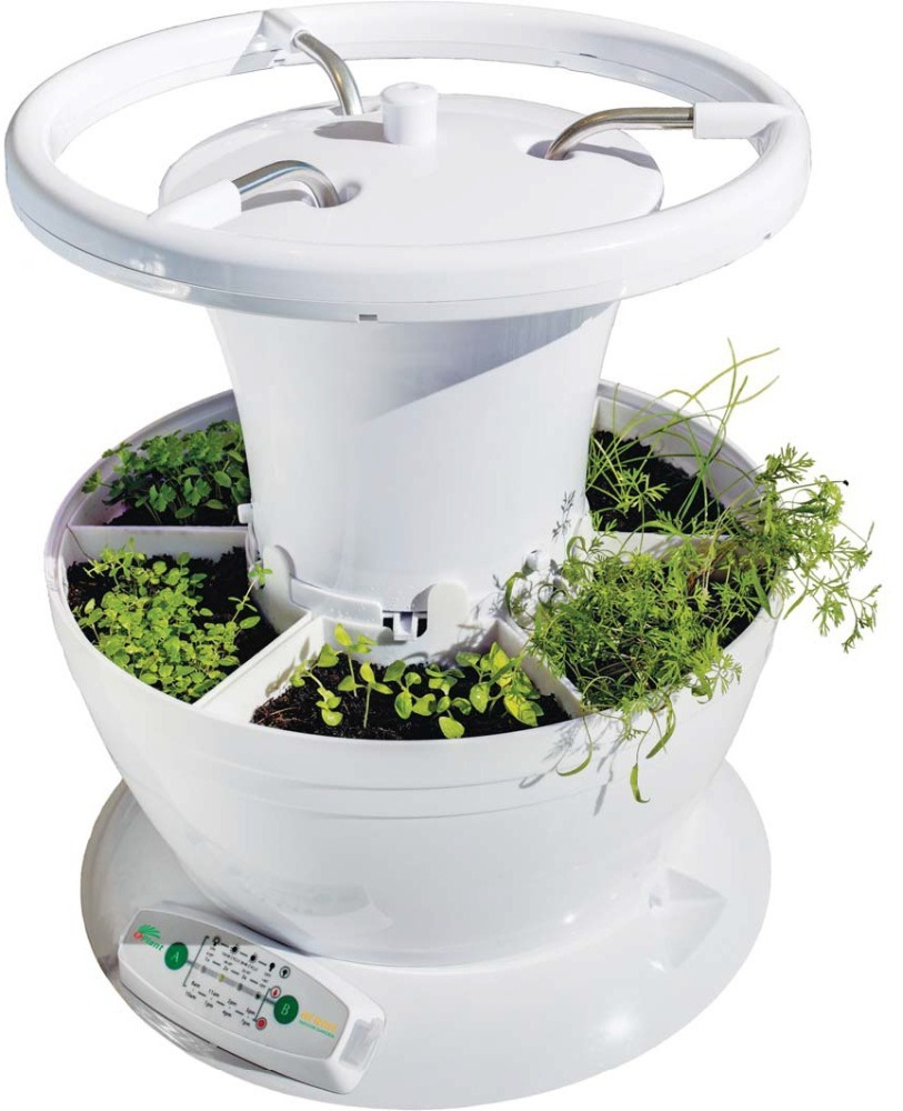 hydroponic growing systems flower pot plant smart inner mini garden planter