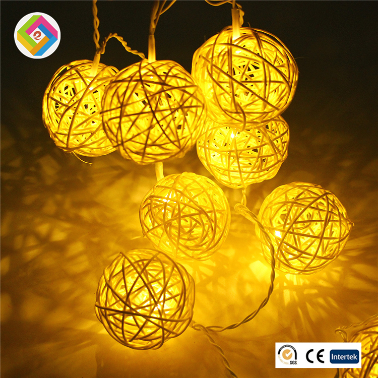Hot 10LED lamp string battery box lights Thailand Cane Christmas decorations on battery lamp series