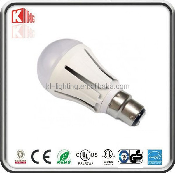 b22 led lamp bulb light 3W/5W/7W/10W /12W Shenzhen factory