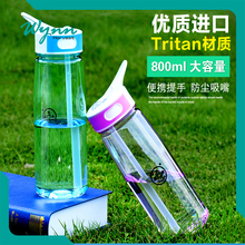 Professional design souvenir plastic sport water bottle