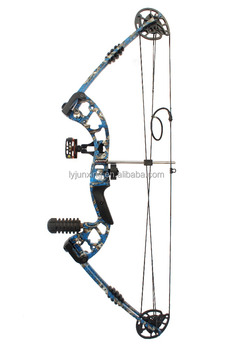camo compound bow M131 archery 310fps axle to axle 34""