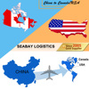 Professional air cargo transportation services to USA