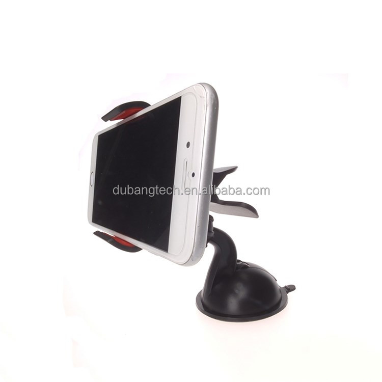 Super 360 Degree Universal Car Holder For GPS/PND/PSPI-POD/MP3/MP4,new design windshield universal mobile phone!!!