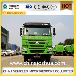 china 2015 howo new style tipper dump trailer truck specification