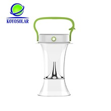 high quality Solar Lantern With Mobile Phone Charger all in one