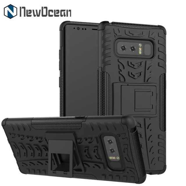 Rugged Hybrid PC TPU Kickstand Case Phone Cover for Samsung Galaxy Note 8