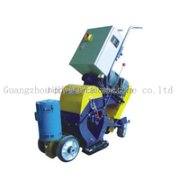 floor shot blasting machine to Removes paint pavement markings from asphalt surfaces