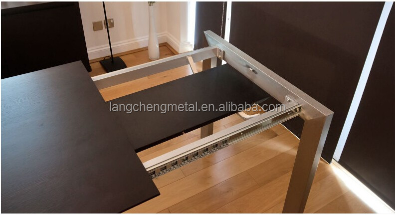Heavy-duty Single Side Opening Table Channel(table extension mechanism)