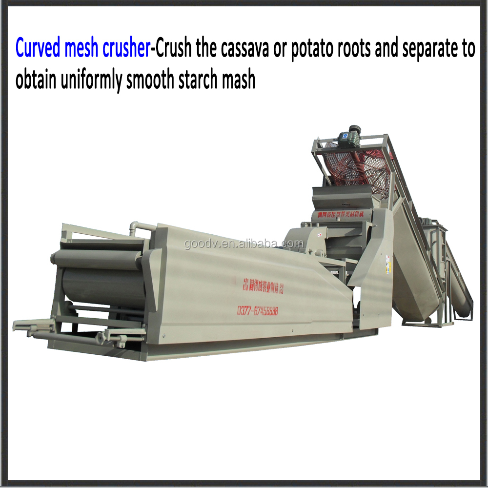 Best quality potato/cassava/corn rasper for starch processing line