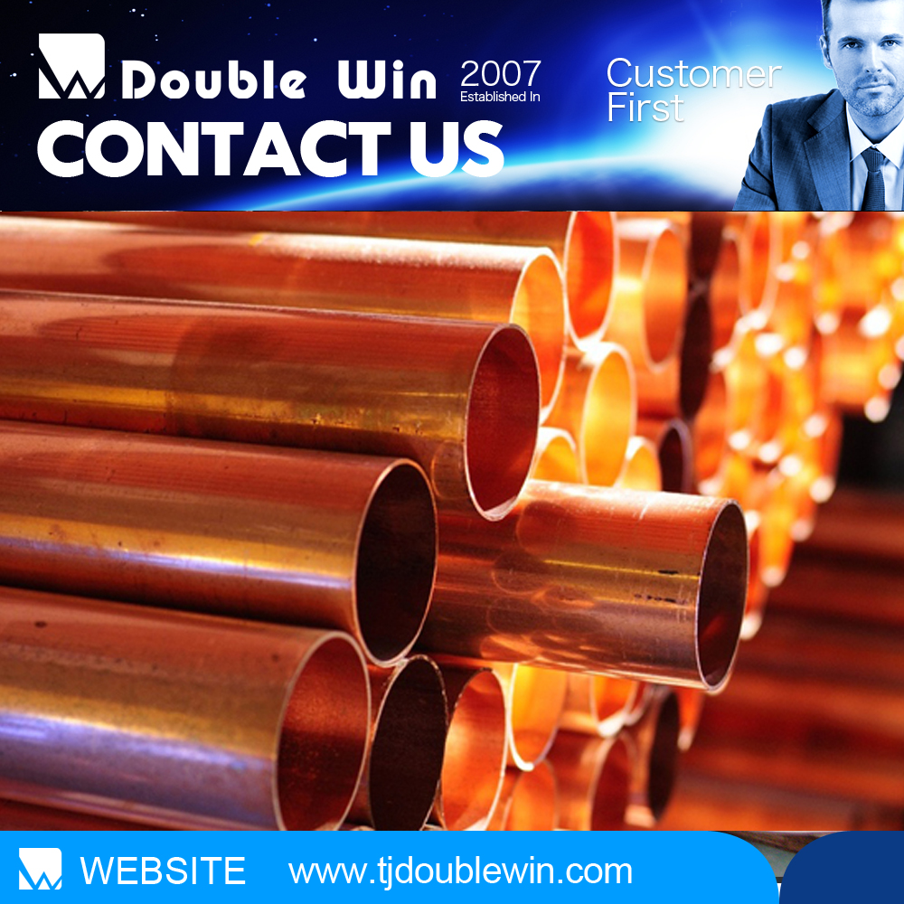 seamless pancake coil copper tube/pipe for air conditioner